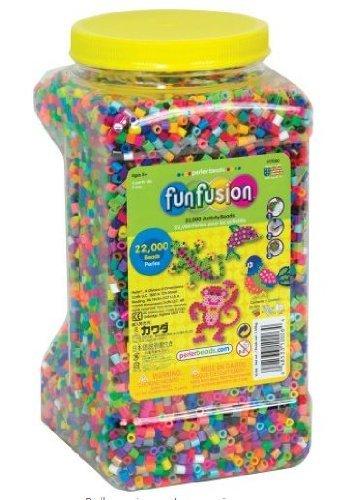 Amazon com: Game / Play Perler Beads 22,000 Count Bead Jar