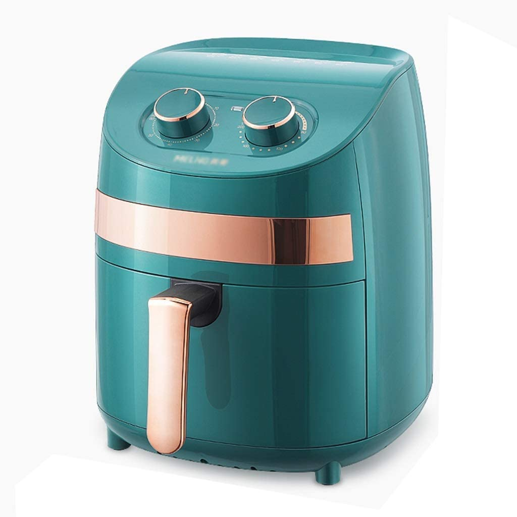 Air Hogar Horno Free French Fries Máquina eléctrica 3.7L Capacidad (Color: Verde, Tamaño: 25 * 25 * 29.5cm) WTZ012 (Color : Green, Size : 25 * 25 * 29.5cm)