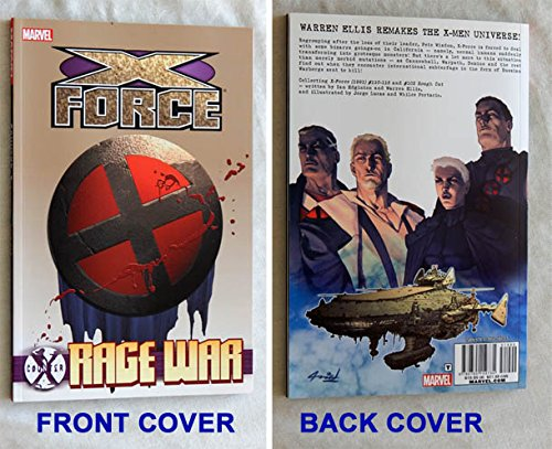 Price comparison product image Counter X : X-Force Rage War TPB Paperback Book - Marvel Comics 2012 - NEW, Uncirculated Graded 9.8 BY THE SELLER - THIS IS FOR ONE BOOK ONLY