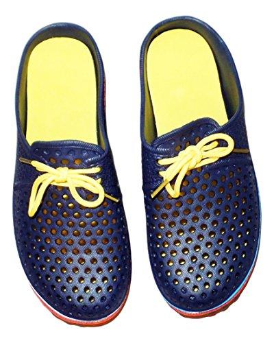 Tone With Blue Ladies 2 Clogs 2 Laces Tone Ladies Clogs qFwF0zX1