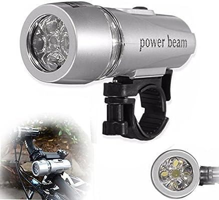 Global 5 LED 2Modes Power Beam Front Head linterna Lámpara para ...