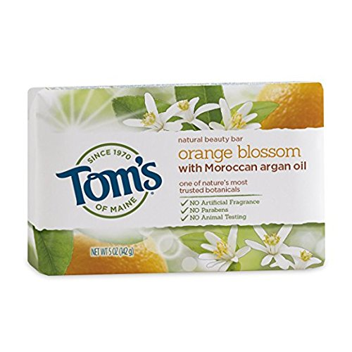 Tom's of Maine Natural Orange Blossom Beauty Bar, 5 Ounce - 6 per case. ()