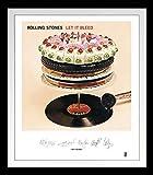 Rolling Stones [Frame]: Let It Bleed Lithograph [Vinyl LP] (Vinyl)