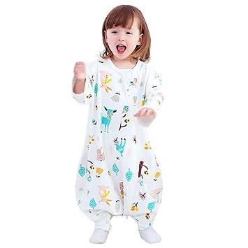 ALXLX Saco De Dormir para Bebés Recién Nacidos, Algodón Niño Niña Saco De Dormir Manta