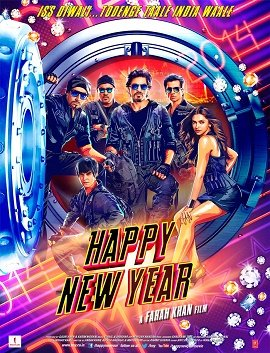 Happy New Year - 2014 Bollywood Music Audio CD / Shahrukh Khan / Deepika Padukone