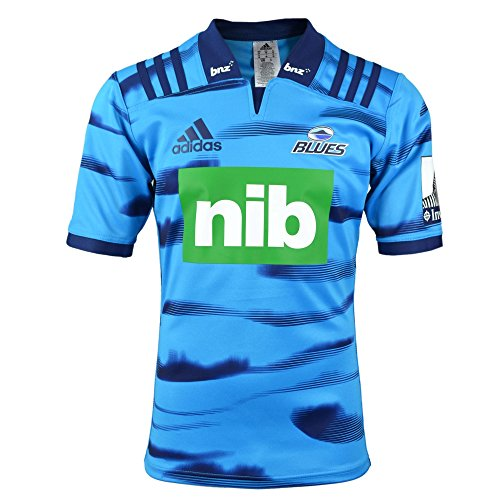 Blues Rugby Home SS Jersey 17/18 (Usa Home Rugby Jersey)