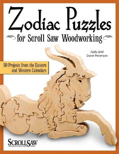 Zodiac Puzzles for Scroll Saw Woodworking