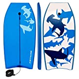 Best Boogie Boards For Kids - Goplus 41 inch Super Bodyboard Body Board EPS Review