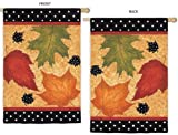 Falling Leaves Vertical Flag For Sale