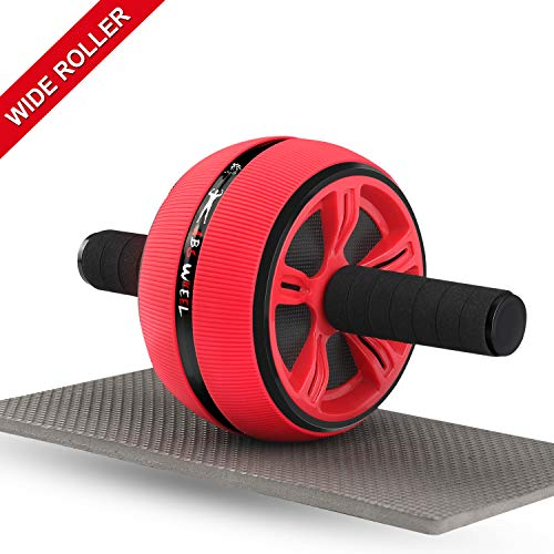 - Ab Roller, Ab Roller Wheel for Men and Women, Home Abdominal Exercise Fitness Equipment Core Workout Machine - with Resistant Band and Knee Pad