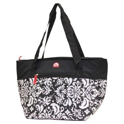 Igloo Insulated Shopper Cooler Tote Bag - Black