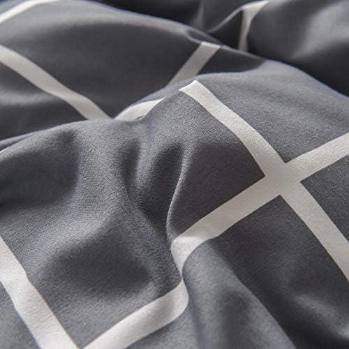SlimpleStudio Le Nouveau Costume Quatre pièces en Cachemire végétal épais et Chaud est Confortable et Respirant Essentiel à la Maison-A3_Lit de 6 Pieds
