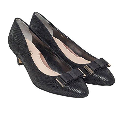 Van Dal Women's Baxter Closed-Toe Pumps Black 8U85DY