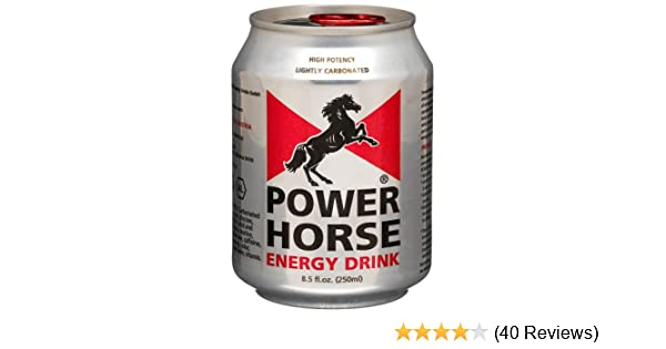 Amazon.com : Power Horse Energy Drink, 8.45-Ounce Cans (Pack of 24) : Grocery & Gourmet Food