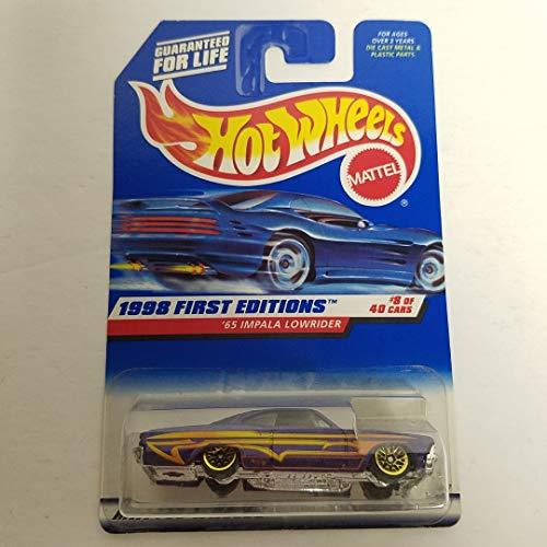 '65 Impala Lowrider 1998 First Edition 8 of 40 1998 Hot Wheels 1/64 diecast car No. - Impala 40