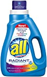All Ultra Radiant Liquid Laundry Detergent, 46.5 Ounce