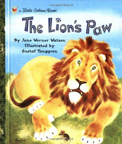 The Lion's Paw (Little Golden Book): Jane Werner Watson, Gustaf ...