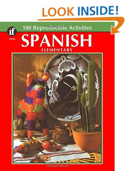 Workbook 4th grade spanish worksheets : Elementary Spanish for Children: Amazon.com