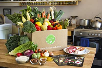 HelloFresh Four-Person Classic Box