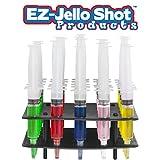 EZ-Inject Jello Shot Racking Tray for Large Syringe (Hold 25 Syringes)