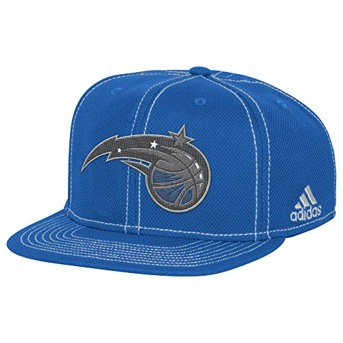 fan products of NBA Orlando Magic Men's Lights out Flat Brim Snapback Cap, One Size, Fashion
