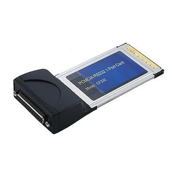 SEDNA - adaptador rs232 de 1 Puerto PCMCIA tarjeta: Amazon ...