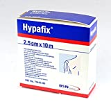 Hypafix Dressing Tape 10m | Contorts to Shape | Strong Adhesive | Breathable | 2.5cm x 10m | 4 Rolls by Hypafix