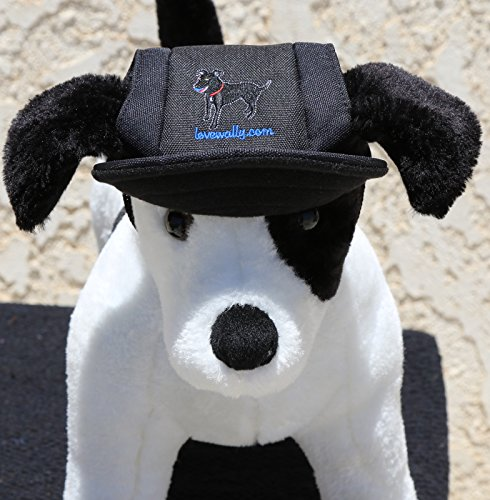 LoveWally Dog Outdoor PET Hat Black ♦ Adjustable Authentic (Large) by LoveWally (Image #3)