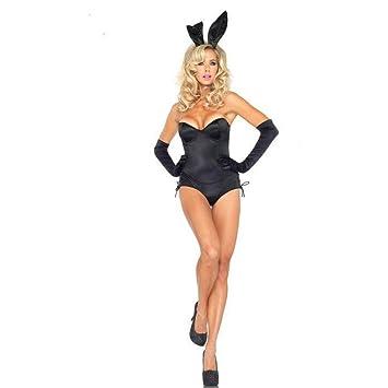WYXFS Disfraz de Conejo Sexy siamés de Halloween Disfraz de ...