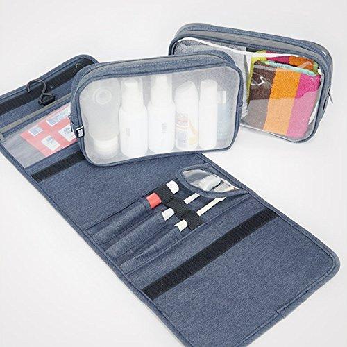 b3293e59b64c Toiletry Bags CAICOLOR Hanging Foldable Waterproof, Travel Wash Bag ...