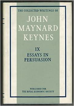 keynes essays persuasion