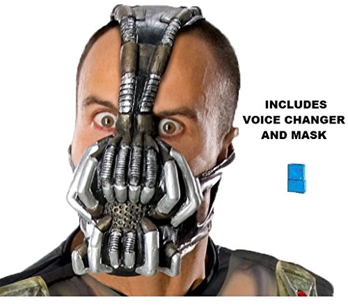 Batman The Dark Knight Rises Bane Adult Mask with Voice -
