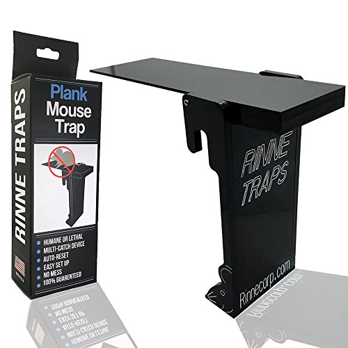 RinneTraps Original - Plank Mouse Trap -Auto Reset- Walk The Plank Mouse Trap -Humane- With Magnet