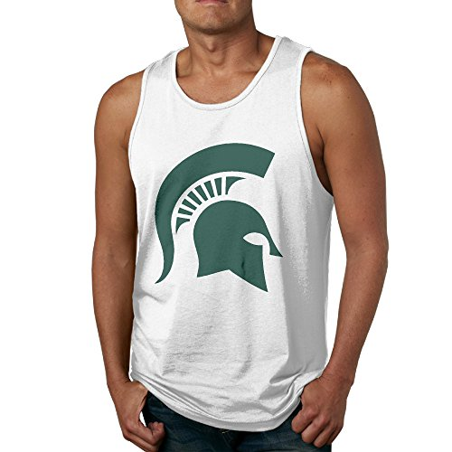 LCNANA Michigan State University Male Vest White XL