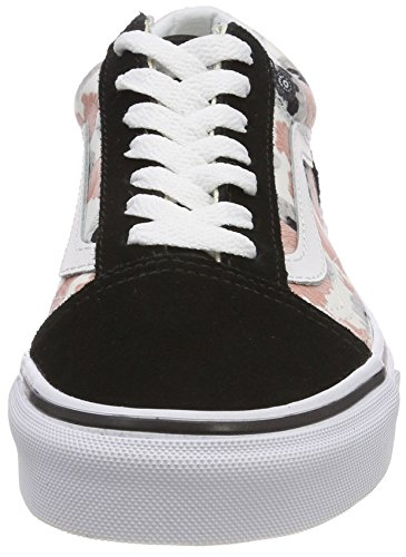 California Unique Femme Old Taille Poppy Vans Chaussures Bleu Running Skool de Multicolore Avq874