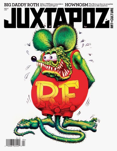 Ed Big Daddy Roth Art - Juxtapoz Magazine #135 April 2012