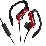JVC HAEBR80R Sports Clip Headphones (Red)