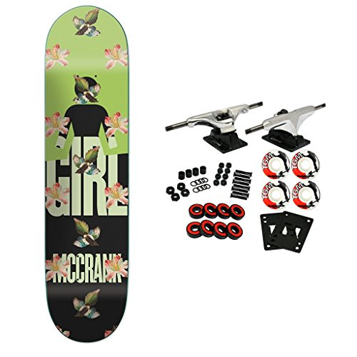 Girl Skateboard Complete McCrank Sanctuary 8.375