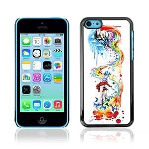 YOYOSHOP [Colorful Abstract Rainbow Art] Apple iPhone 5C Case