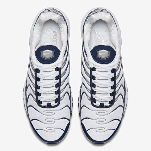 midnight Max Men's Metallic Navy Shoes Air Silver Nylon Nike Running 97 White qEpcvwnHgR