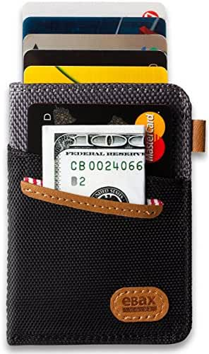 Ebax Minimalist Slim Front Pocket Wallet - Exclusive Design