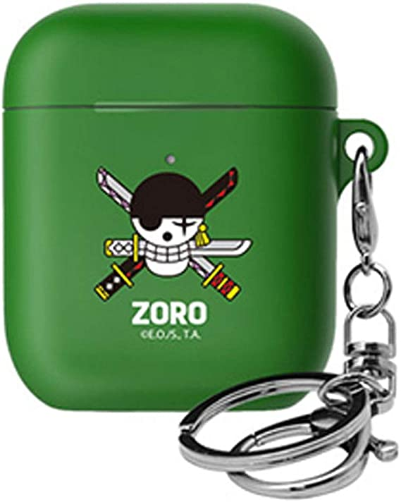 One Piece Skull Case Cover for Apple Airpods 1st / 2nd Generation (Zoro)