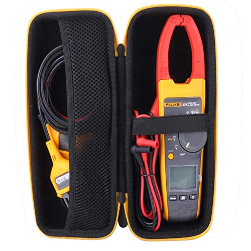 Aenllosi Hard Storage Case for Fluke 376/374/ 375 FC 1000A Ac/Dc TRMS Wireless Clamp