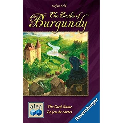 The Castles Of Burgundy Card Game: Toys & Games