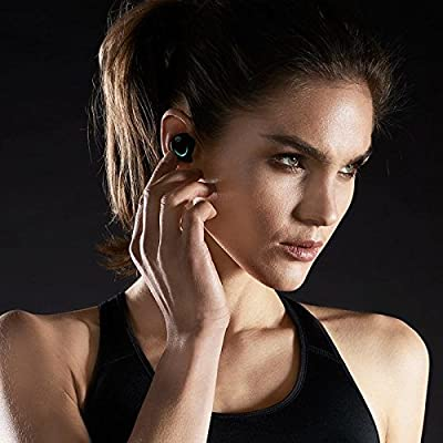 Bragi The Dash, App Enabled Headphones, Black (B1000)