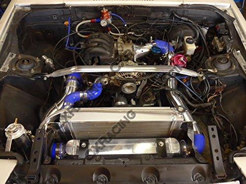 Amazon.com: CXRacing Intercooler Piping BOV Kit for Mazda Rx7 Sa Fb 13b Rx-7 Twin Turbo Blk Hose: Automotive