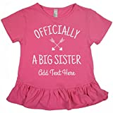 Best Customized Girl Little Sister Tshirts - Customized Girl Officially A Big Sister: Girls LAT Review