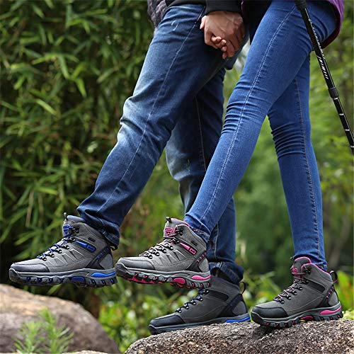 Rose Hommes 1 Outdoor de Sneakers Promenades Femme Sports BOLOG Antidérapant Chaussures Gris Antichoc Trekking Chaussures Randonnée w6FHnxqAI