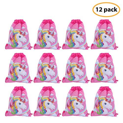 Unicorn Drawstring Bag For Gift Bag, Party Favor Bag, Unicorn Party Supplies