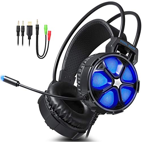 EasySMX G2000 Over Ear Stereo Gaming Hea...